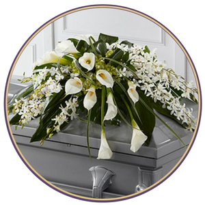 Click here to view our casket spray flowers