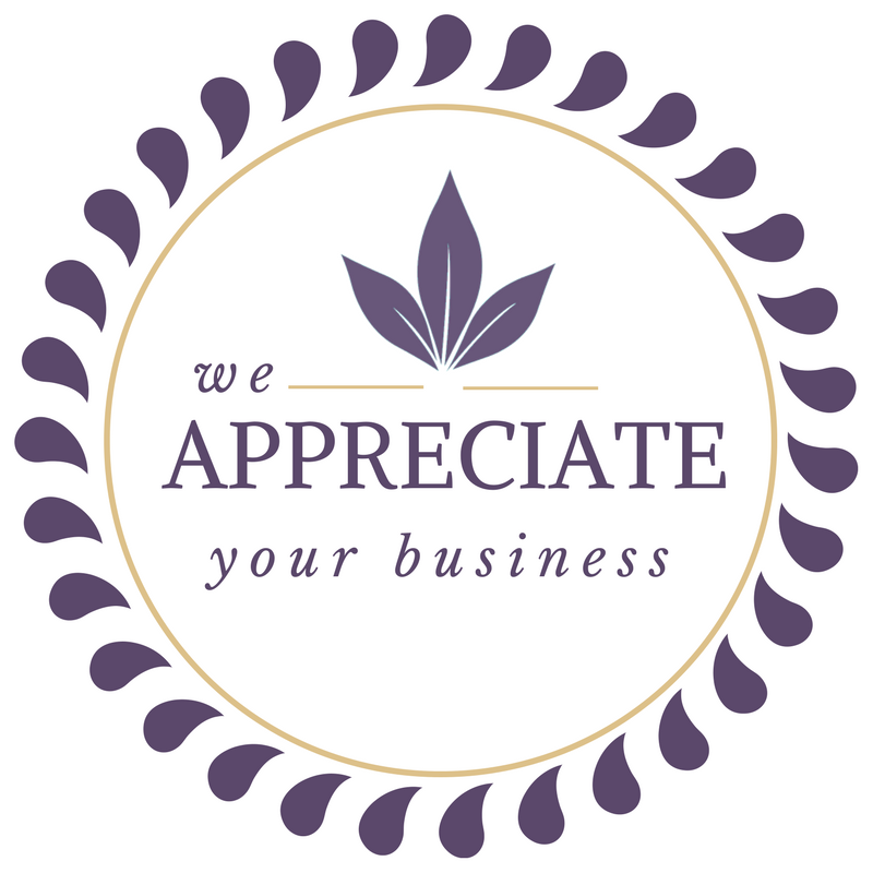 We Appreciate Your Business Graphic